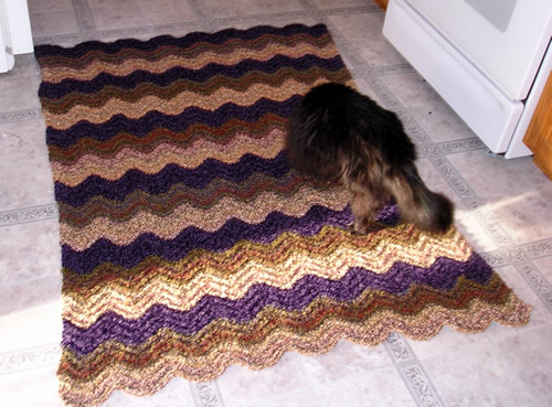 Feather and Fan afghan - ~ Bev's Country Cottage ~