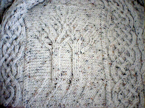 Celtic Knitting Patterns Free : Celtic Aran Afghan Pattern