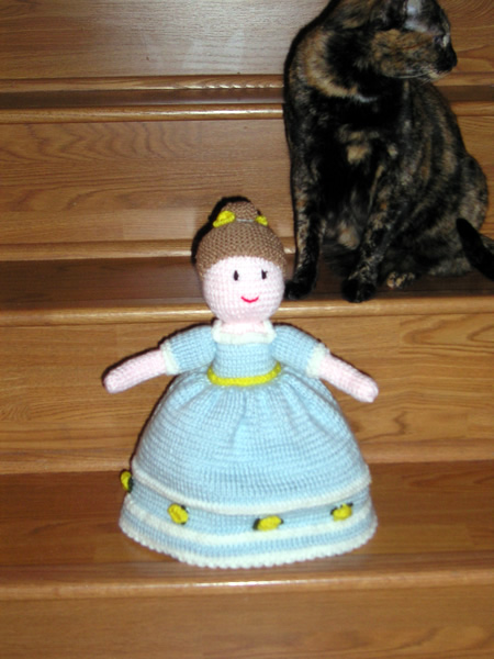Knit One, Purr Too - Gallery: Topsy Turvy Cinderella Doll